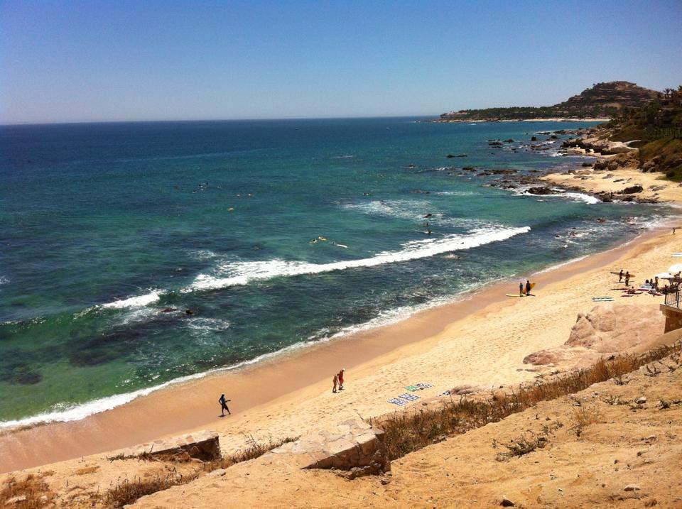 Surfing in Costa Azul